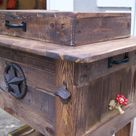 Wooden Ice Chest