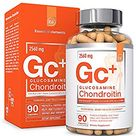 Glucosamine Chondroitin MSM Boswellia Serrata Hyaluronic Acid Supplement   Essential Elements   Joint Support Antioxidant Supplement for Flexibility   90 Capsules