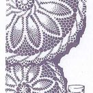 Digital PATTERN 754 Vintage Crochet Pineapple Doily Six sizes 26 18 19 12 or 16 10 inches from the 1960s in  PDF Instant Download