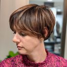 45 Cute & Youthful Short Hairstyles for Women Over 50