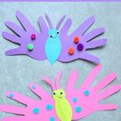 Butterfly Handprint Card - The Best Ideas for Kids