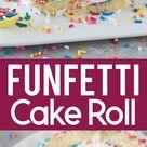 Funfetti Cake Roll