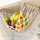 Fruit Veggie Hammock Macrame Hanging Produce StorageBoho   Etsy