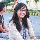 Beautiful Indian College Girl in White Salwar Kameez