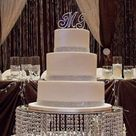 Bling Wedding Cakes