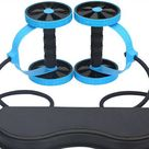 AB Roller Exercise Trainer - Blue