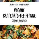 Vegane Bratkartoffel-Pfanne mit Gemüse