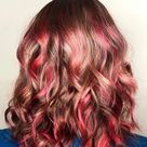 37 Best Red Highlights in 2021 for Brown, Blonde & Black Hair