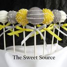 Yellow Cake Pops