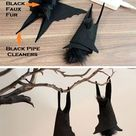How to Make a Hanging Branch Centerpiece for Halloween | eHow.com