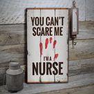 Nursing Job Sign, Nurse Occupation Sign, Nurse Decor, Nurse Wood Sign, Wooden Sale Decor, Wooden Wall Decor - Wooden Old Signs