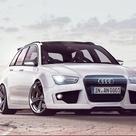 New 2013 Audi RS4 Avant Tuning Rendering Looks Striking