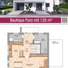 Bauhaus - Grundriss - 128 m² - 4 Zimmer - Erdgeschoss