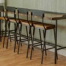 Napa East Farm House Industrial Console Table - Bar