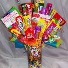 omgosh 80s candy centerpieces... where's the pop rocks!