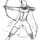 Awesome Robin Hood Coloring Pages