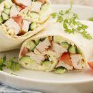 15 recettes de wraps bien roulés Recette 1 | Cuisine AZ