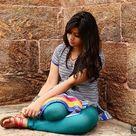 Indian girl in leggings