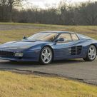 1993 Ferrari 512 TRDesign by PininfarinaVIN. ZFFLG40A6P0094762Engine no. 32287