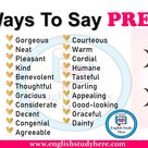 Ways To Say PRETTY in English - English Study Here