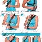 Shoulder Subluxation Sling   Stroke, Arm Hemiplegia & Acromioclavicular Joint Sprain Support Brace