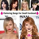 3 trendiest bangs for small forehead in 2020 you must try