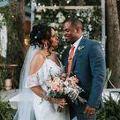 Simple & Colorful Spring Wedding Bouquets and Bridesmaid Bouquets | Poconos Wedding