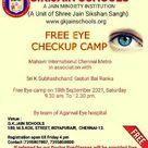 Free Eye Camp G.k.jain schools