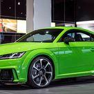 Audi TT RS Sonderlackierung    autozeitung.de