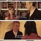 Doctor Who. Twelve and Clara.