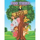 Zoo Tiere - Malbuch Fr Kinder (Paperback)