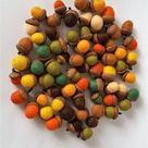 Felted acorns Thanksgiving decor Wool felt acorns Fall decor   Etsy