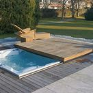 Infinitas Design Spa with Electric Cover Hot Tub Jacuzzi Cover