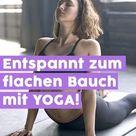 Ganz entspannt zum Sixpack Die 4 besten Yoga Übungen für einen flachen Bauch