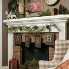 Kaminkonsole für Weihnachten selber bauen - Deko & Feiern, Innendesign - ZENIDEEN
