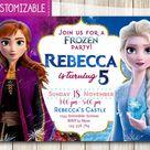 Frozen 2 Invitation Frozen Invitation Frozen 2 Birthday | Etsy