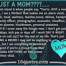Being A Mom
