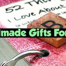 26 Handmade Gift Ideas For Him - DIY Gifts He Will Love For Valentines, Anniversaries, Birthday or ANY Special Occasion - Clever DIY Ideas