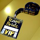 Team Bride Vip Pass Hen Party Lanyard Favours