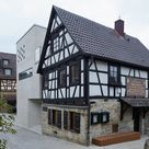 Turmartig mit modernem Gewölbe   Museum in Marbach von Webler + Geissler und Knappe Innenarchitekten