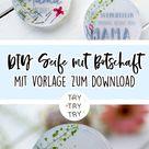 DIY Seife mit Spruch (für den Muttertag)