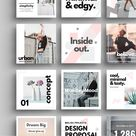 Canva Instagram templates - 40 layouts