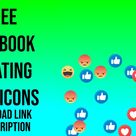Facebook Floating Emojis Emoticons Like Love Care Haha Angry Wow  - Motion Graphics - Copyright Free