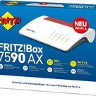 AVM FritzBox WLAN Router Fritz!Box 7590 AX 2.533 MBit/s 2,4/5 GHz VDSL DECT
