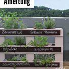 Vertikales Hochbeet aus Paletten bauen