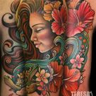 Hawaiian Girl Tattoos