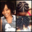 Natural Twist Hairstyles