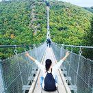 Geierlay bridge -the longest suspension bridge in Germany (Mörsdorf)