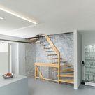 Kalkputze mit fugenloser Bodengestaltung, Industrial Look, Loft Design, Interior Design