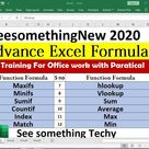 advance excel formulas with examples in excel sheet free download